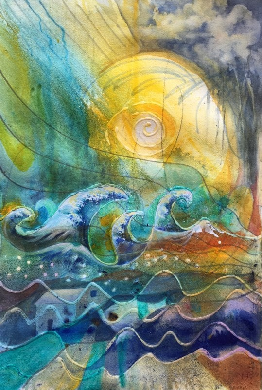 Changing Times | Heidi Ludwig | Acrylic Mix | 18 x 24 | 500.00
