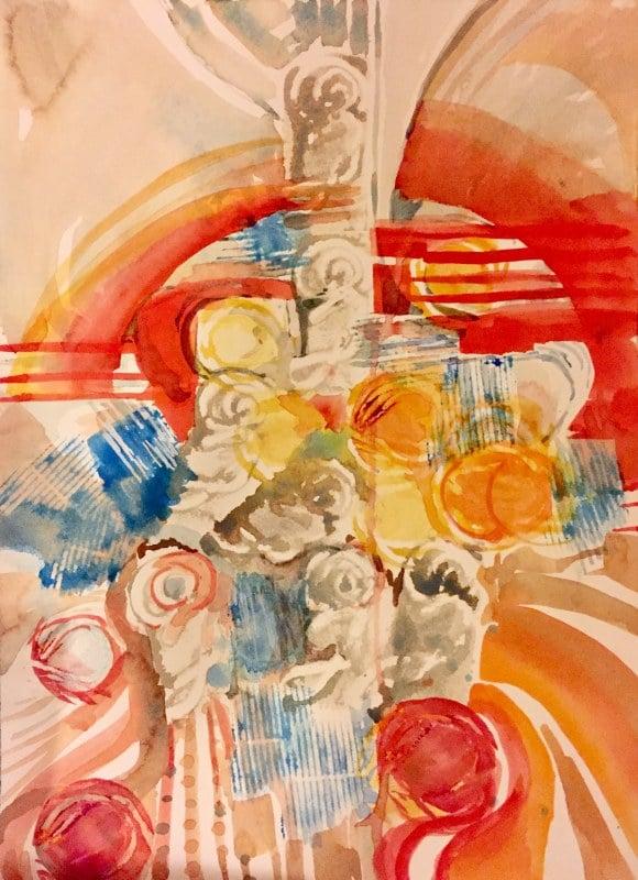 Columns | Heidi Ludwig | 11 x 15 | 300.00