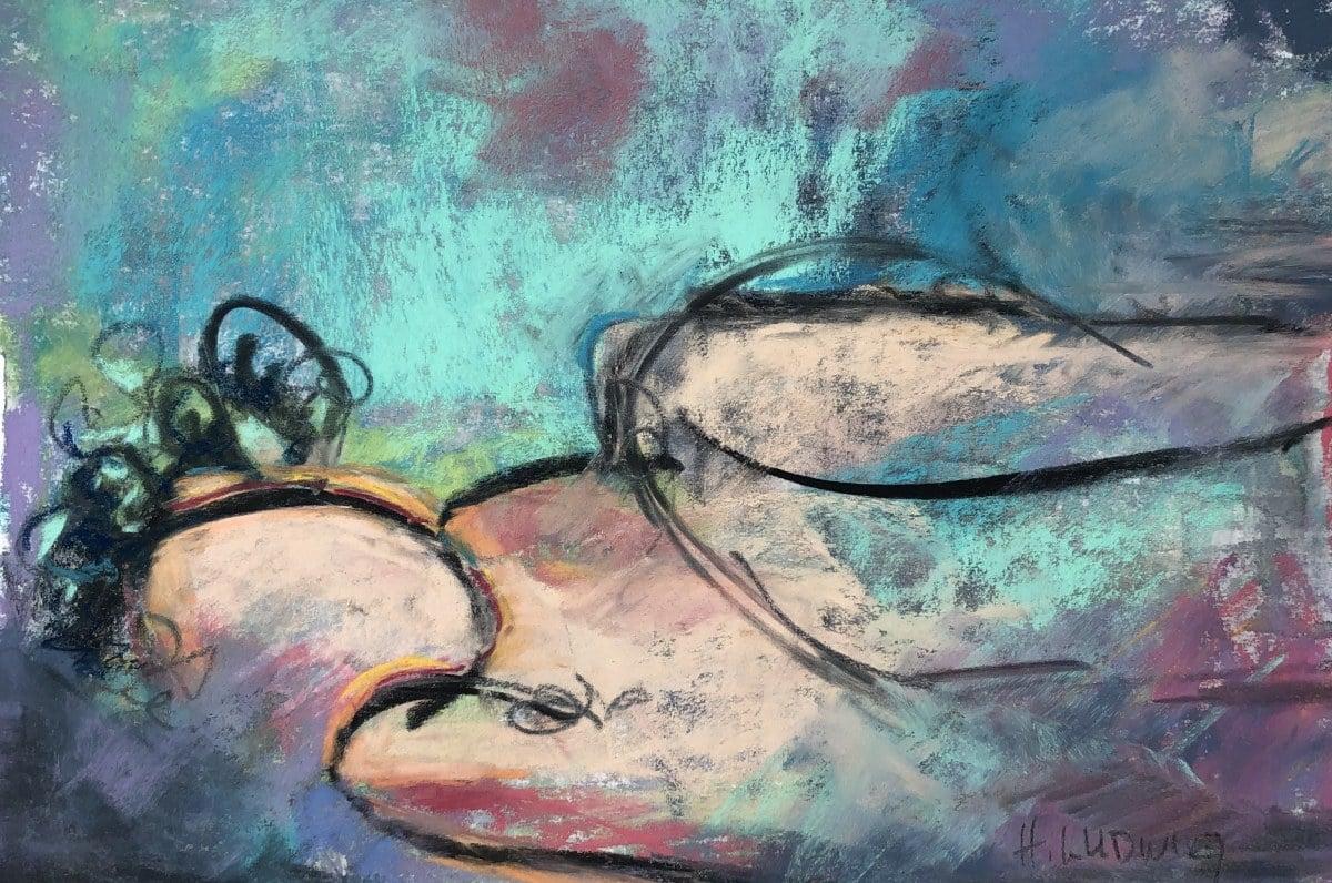 Repose | Heidi Ludwig | Pastel | 10 x 14 | 100.00
