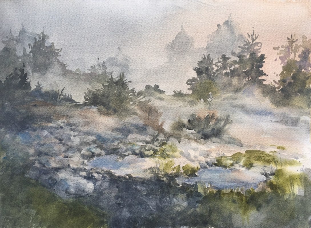 Misty | Heidi Ludwig | 11 x 15 | 300.00