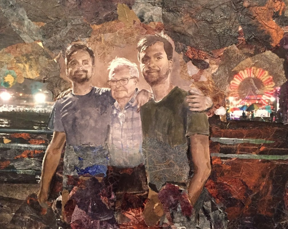The Ludwig Boys | Heidi Ludwig | Mixed media | Not For Sale