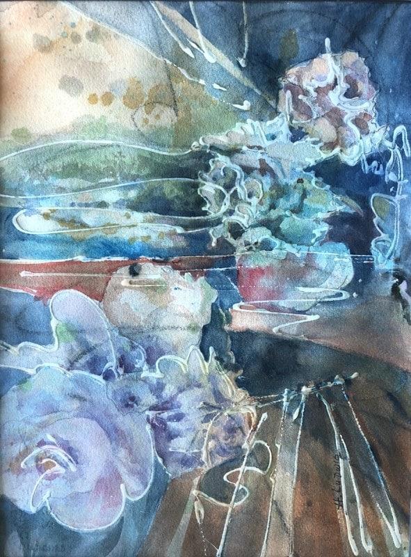 Third Day | Heidi Ludwig | Acrylic mix | 16 x 20 | 300.00