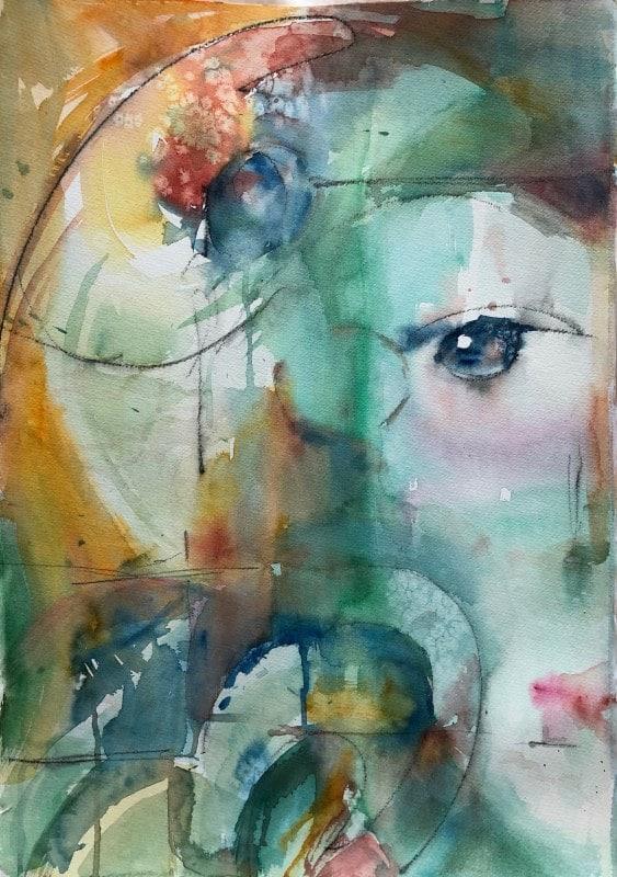 Variance | Heidi Ludwig | Acrylic | 18 x 24 | 500.00