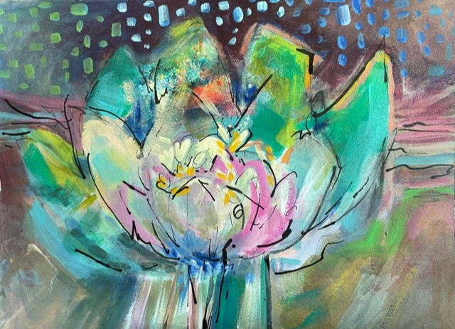 Arising Anew   Acrylic   11 x 15